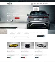 Car Marketplace - HTML template