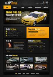 Car Rent - HTML template