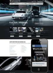 Car repair service - Wordpress templates