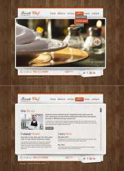 Catering Service - HTML5 templates