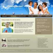 Charity Center - Website template