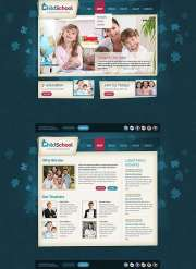 Child School - HTML5 templates