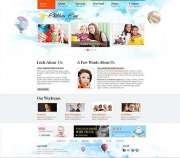 Children Care - HTML template