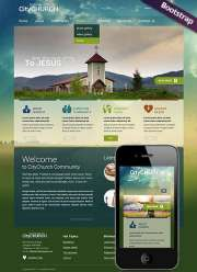 Church - HTML template