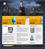 City Community - Website template