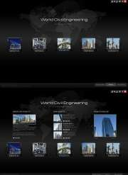 Civil Engineering - HTML5 templates