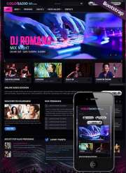 ColoRadio - HTML template