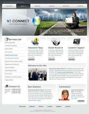 Communication - Website template