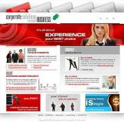 Corporate solution - Website template