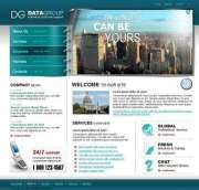 DG Group - Website template