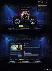 DJ Mix - HTML5 templates