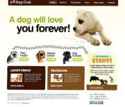 Dog Club - HTML template