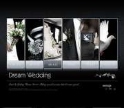 Dream wedding - VideoAdmin flash templates