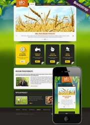 Eco Agriculture - HTML template