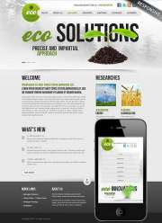 Ecology Business - Wordpress templates