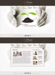 Ecology Products - HTML5 templates