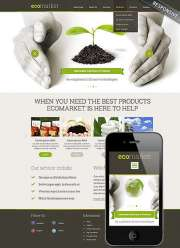 Ecology Products - Wordpress templates