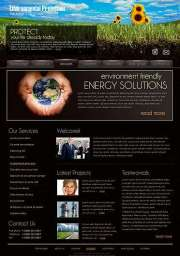 Ecology Protect. - Website template