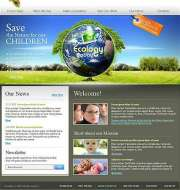 Ecology - Website template