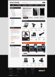 Electronic store - OpenCart templates