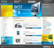 Electronics Store - Website template