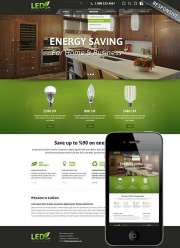 Energy saving - HTML template