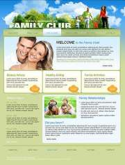 Family Club - Website template