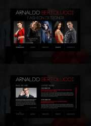 Fashion Designer - HTML5 templates