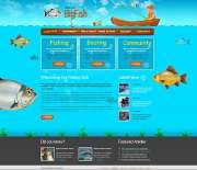 Fishing - Website template