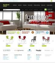 Furniture Store - OpenCart templates