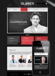 Global Business - Wordpress templates
