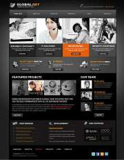 Global Network - HTML template