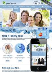 Good water - HTML template