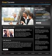 Great Success - HTML template