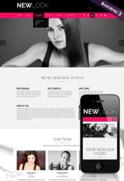 Hairdressing - HTML template