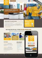 Handyman service - Wordpress templates