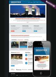 Heavy Industry  - HTML template