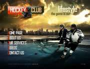Hockey Club - VideoAdmin flash templates