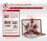 Hockey - Flash template