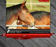 Horse farm - VideoAdmin flash templates
