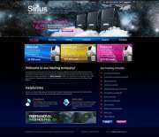 Hosting Company - HTML template