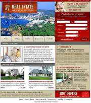 House - Website template