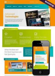 In Design - HTML template
