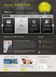 Index Business - HTML template
