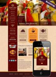 Indian Food - HTML template