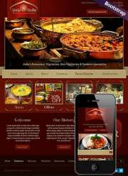 Indian Restaurant - HTML template