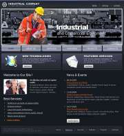 Industrial Company - HTML template