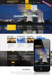 Industrial product - HTML template