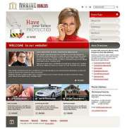 Insurance Brokers - Website template