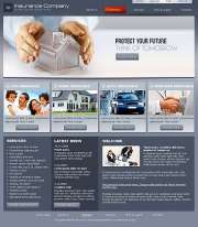 Insurance Co. - Website template